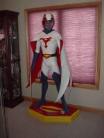 Gatchaman Mark 1:1 Statue 2 by MalottPro