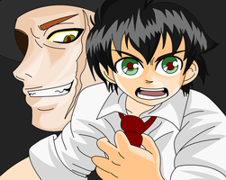 CdF: Darren and Crepsley Col. by JoTehDemonicPickle