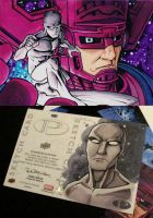 Marvel Premier Herald of Galactus by KidNotorious
