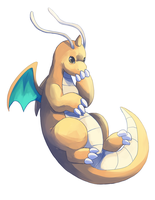 Dragonite by Opheleus
