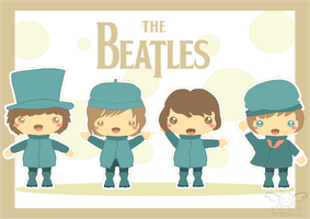 The Beatles by iveinbox