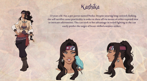 Quick Design: Kashika by Spudfuzz