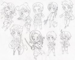 CHIBI!! by Art-is-life22