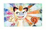 Meowth by Liaelin