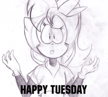 HAPPY TUESDAY ANGI! by TheIcedWolf