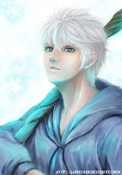 Rise of the Guardians : Jack Frost : by linvathan