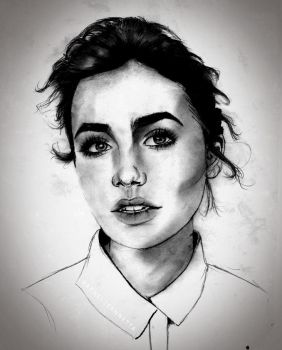 Lily Collins. by letgogh
