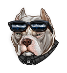 RIFF RAFF PITTBULL by BROWN73
