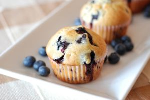 Blueberry Muffins by bakingbee