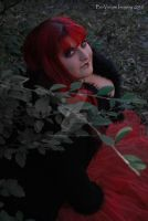 Red Queen Greenery by BioVenomImagery