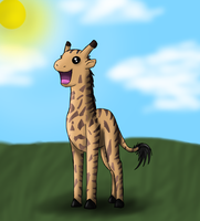ITS A GIRAFFE by SuicuneNorth