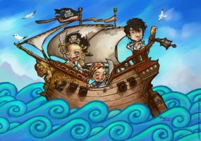 Little Pirates the second by Ilacha