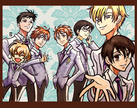 This is our Ouran Host Club! by gakka