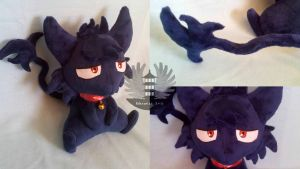 cat Kuro plush - Servamp by ArtesaniasIris