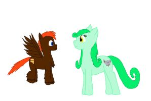 Hatched pony egg and foal for Bloodymary42 by WoefulWriters