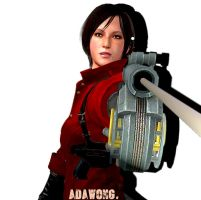 Resident Evil, lady in red. by joobiewoobie