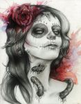 Untill Nothing's Left But Bone by lady-scarlet