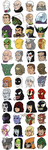 The Rogues Gallery by thelivingmachine02