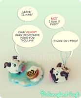 The Poro Story - Fight for the snack! by BunnyLandCraft