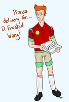 Pizza Delivery by Radiius