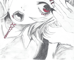 Juuzou Tokyo Ghoul Drawing by claire-chan25