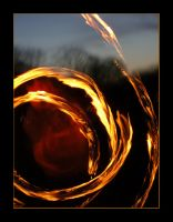 The spiral of fire by LeafOfSteel