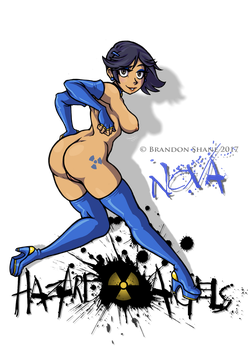 Hazard Angels - Nova (nude) by JiveGuru