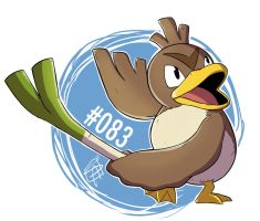083 - Farfetch'd by steven-andrew