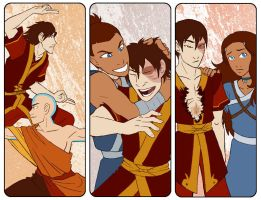 ATLA Bookmarks - New Friends by AliWildgoose