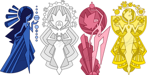The Order Of The Diamonds by GustavoTheHuman