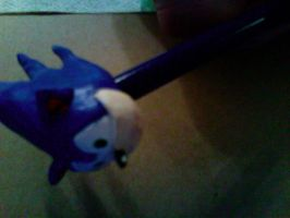 Sonic Pencil Topper: Angle by hobfrog07
