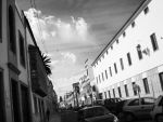 Black and white street by Caruturina