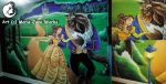 Beauty and the Beast ~ MURAL by MarieJane67777