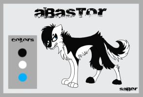 Abastor Ref Sheet by Flame-Expression