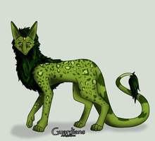 yarngirl : Moss by GuardianAdoptables