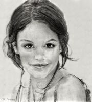 Drawing of Rachel Bilson by SHParsons