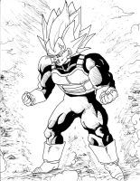 Vegeta by Shredex