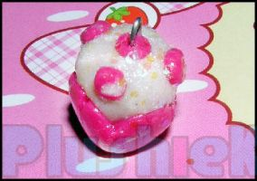 Kawaii muffin charm by MomoKiko