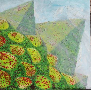 And if the Pyramids were Covered in Grass Flowers by Cocotte-Vero91