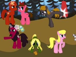 Total Drama Revenge of the Ponies P1 by PicklePieCow