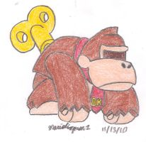 Mini Donkey Kong Toy by MarioSimpson1