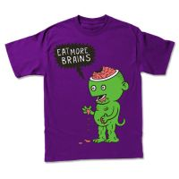 Freshcotton: Eat More Brains by stingerstyler