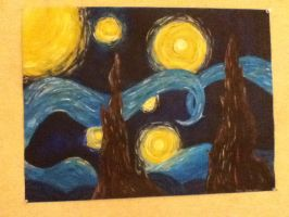 My Starry Night by Miss-Misery13