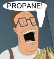 crazed hank hill by VampericClaret