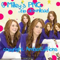 Miley's Png Pack 2.0 by worldwide-editions