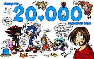 + 20,000 HITS + by ojamajodoremidokkan
