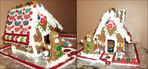Gingerbread House by Lolly-pop-girl732