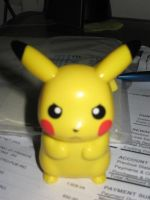 2012 McDonald's Pokemon Talking Pikachu by tanlisette