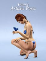 Artistic Poses for Dawn by ratorama