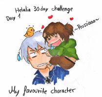 Day 1- My favourite character by Bambily